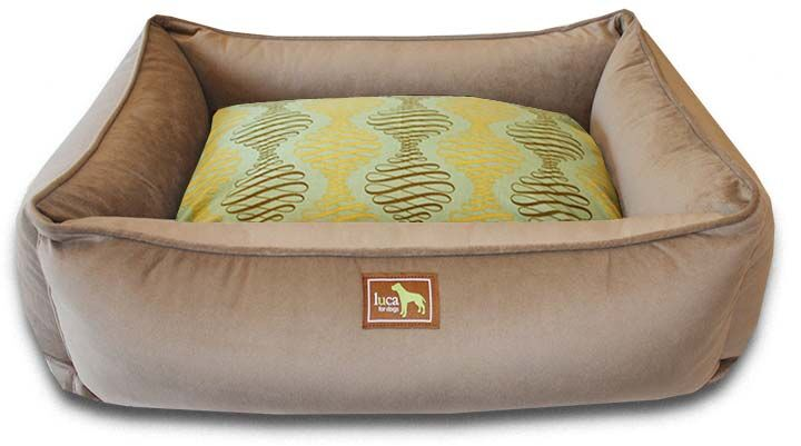 Spirals Easy-Wash Cover Lounge Donut Bolster Size: Medium (36