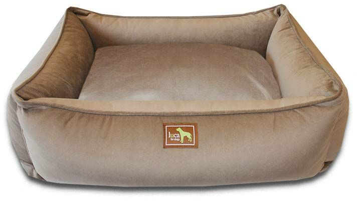 Easy-Wash Cover Lounge Donut Dog Bed Color: Coco, Size: Large (44