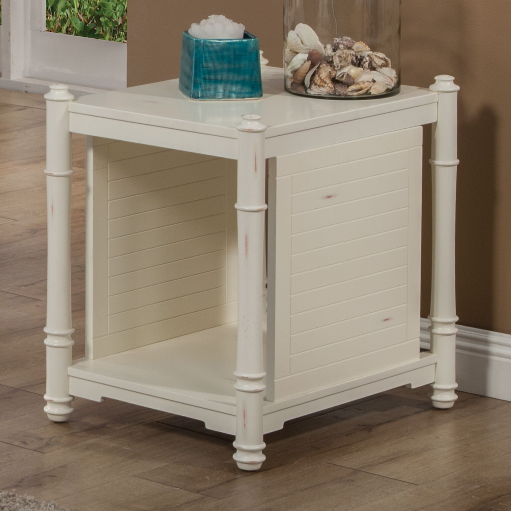 Goeltz Distressed End Table
