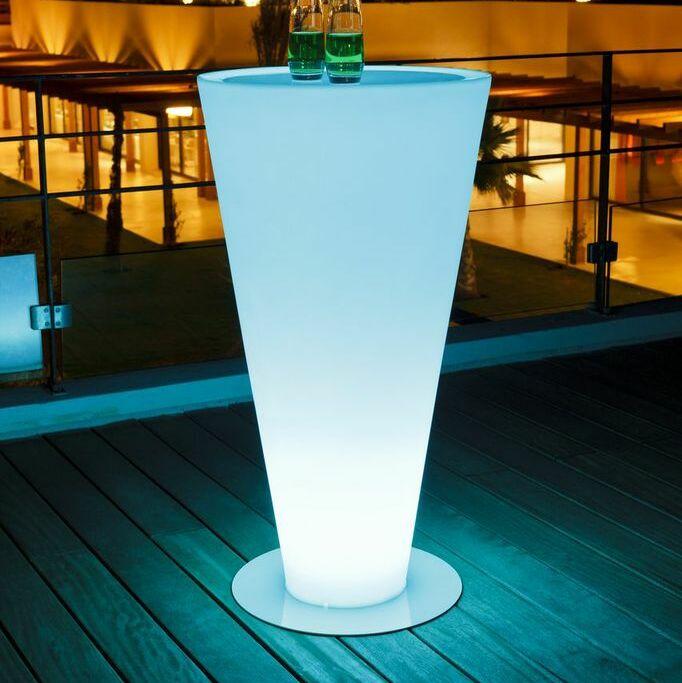 Up Luminous Bar Table