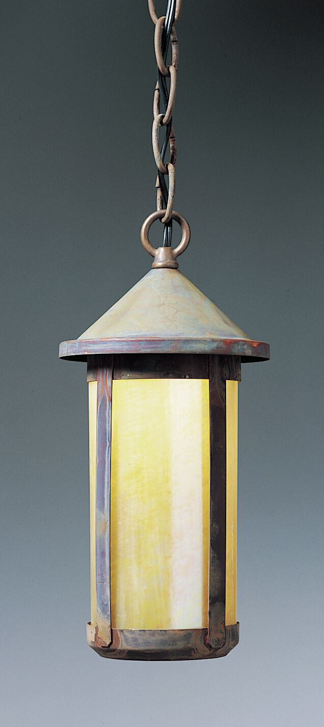 Berkeley 1-Light Lantern Pendant Shade Color: Cream, Size: 12
