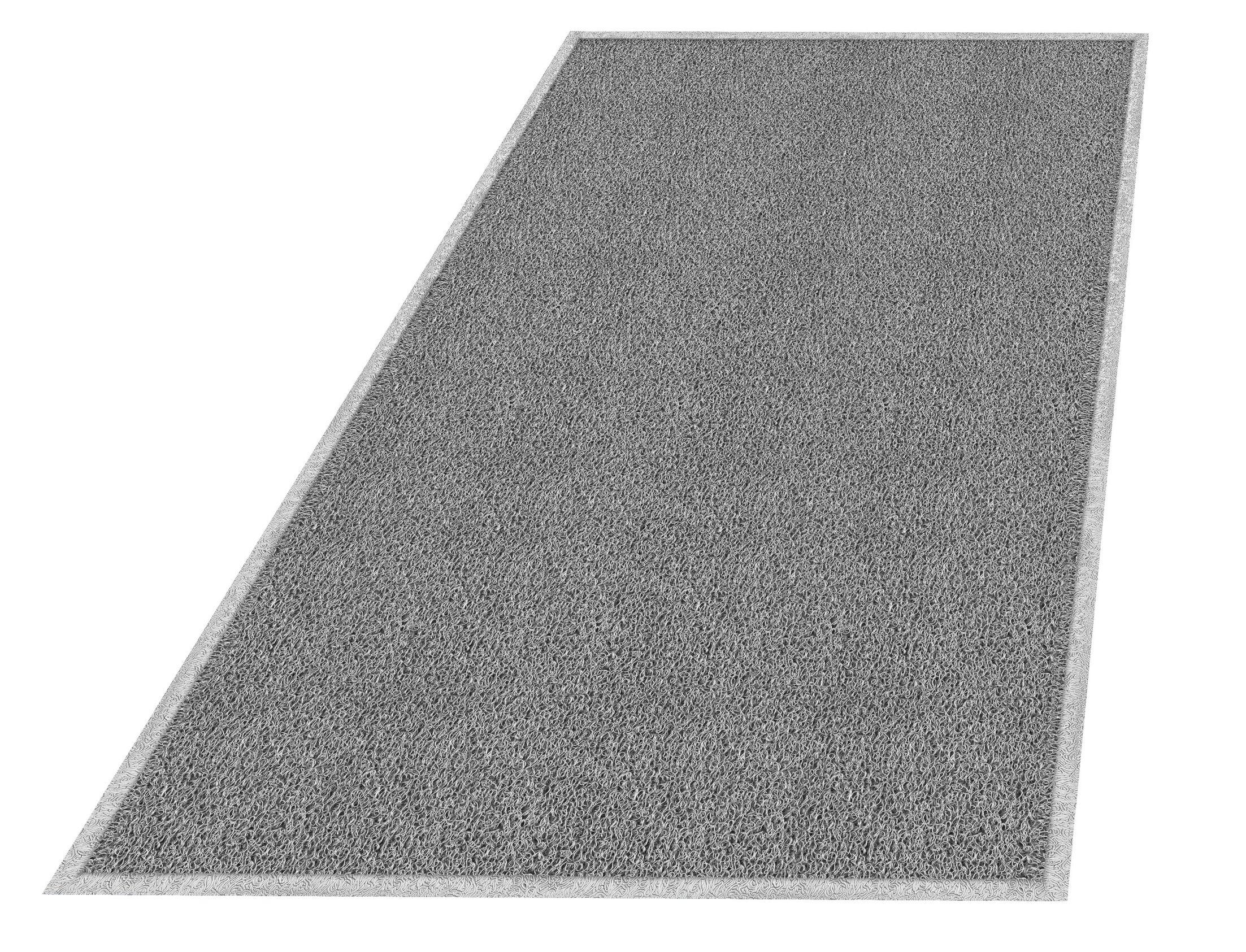 Wayfarer Utility Mat Mat Size: Rectangle 4' x 6', Color: Gray