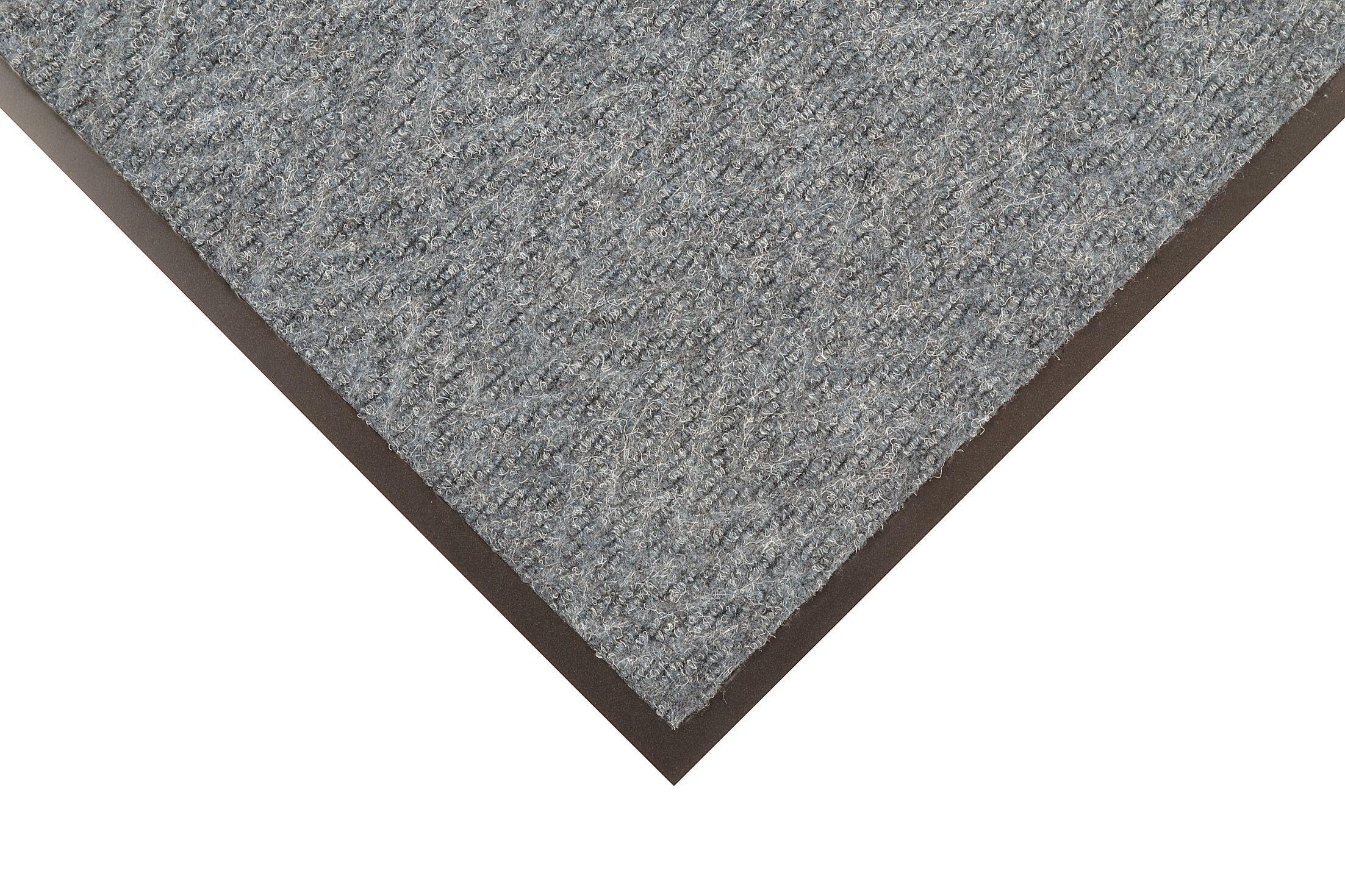 Chevron Doormat Color: Brown, Mat Size: Runner 3' x 10'