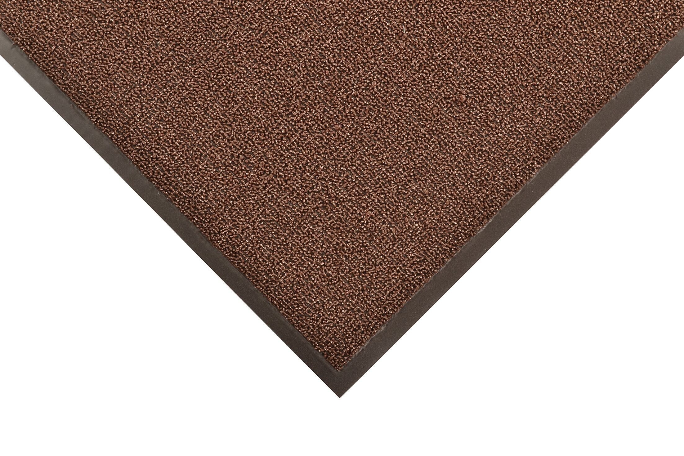 Prelude Doormat Color: Brown, Mat Size: Rectangle 3' x 5'