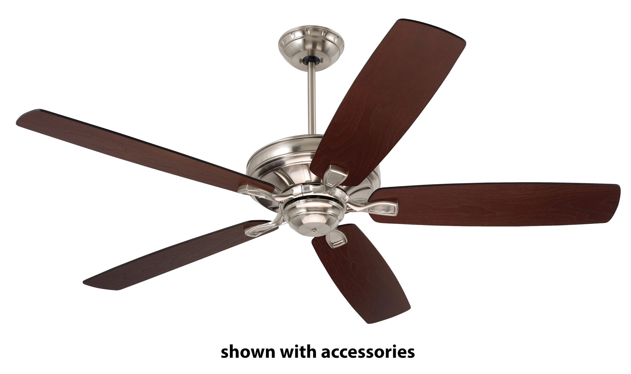 Jessamine Ceiling Fan Motor Finish: Brush Steel