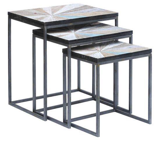 Kyree 3 Piece Nesting Tables