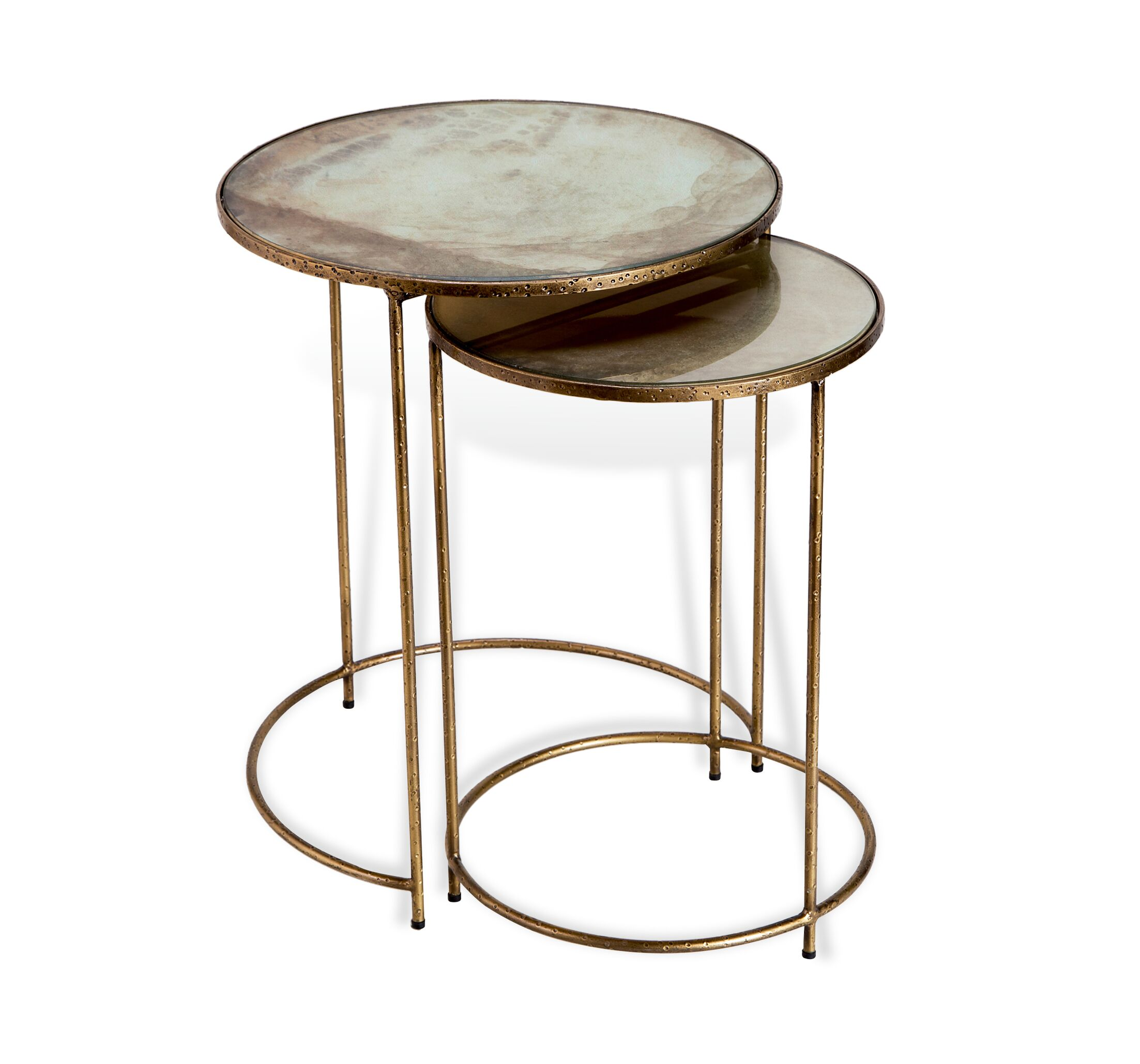 Maci Round 2 Piece Nesting Tables