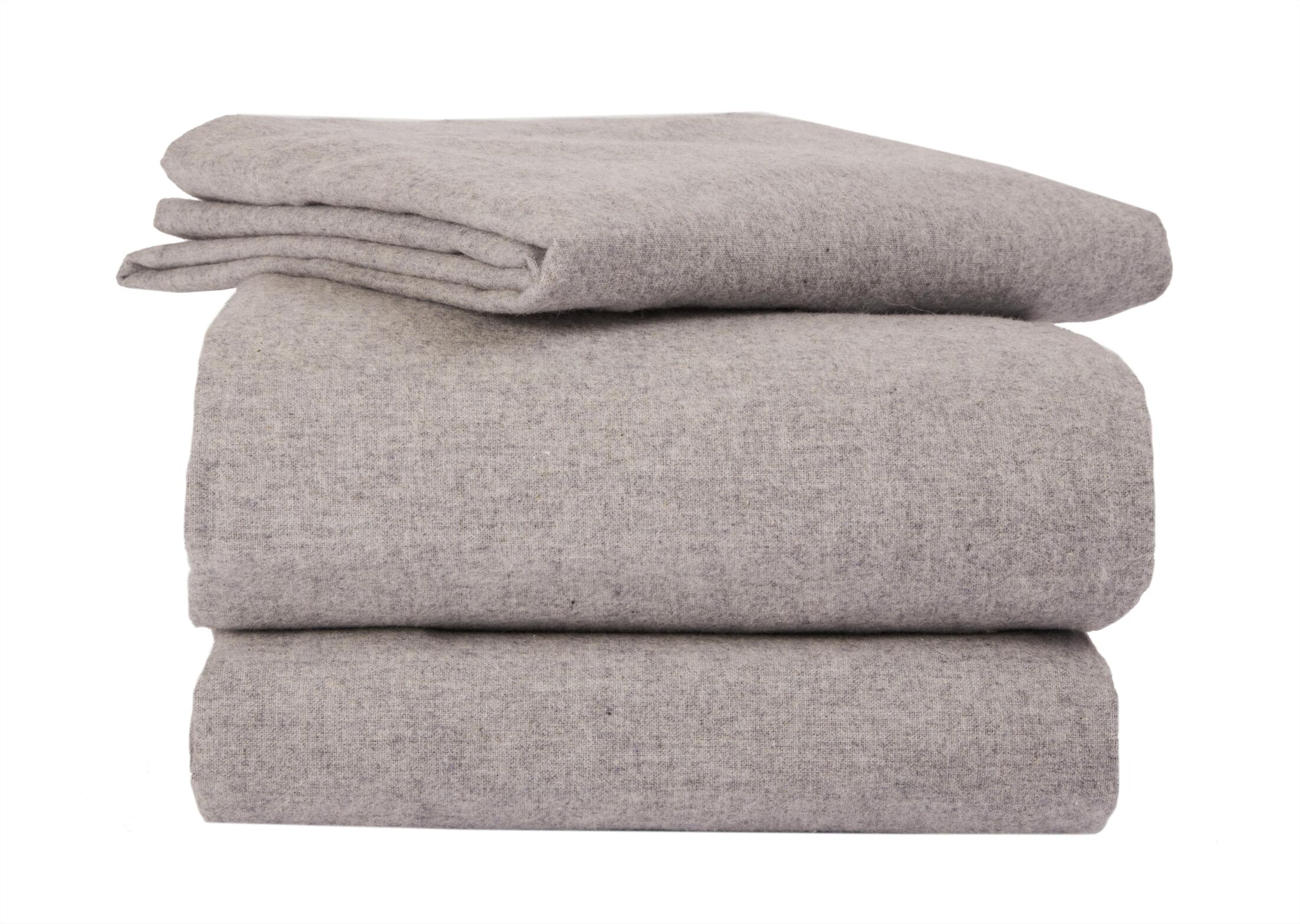 Heather Flannel Sheet Set Color: Lilac, Size: Queen