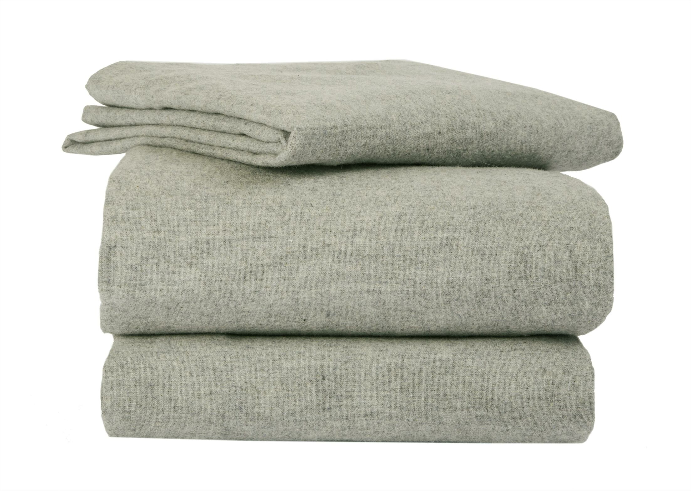 Heather Flannel Sheet Set Size: Queen, Color: Sage