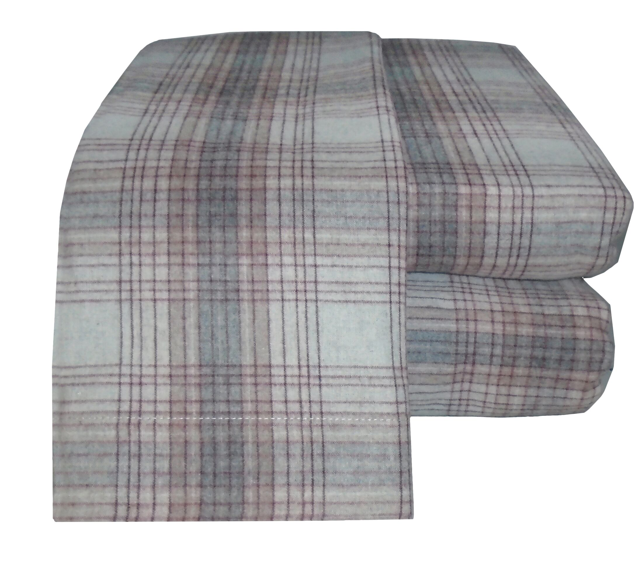 Flannel Sheet Set Size: Twin, Color: Maroon