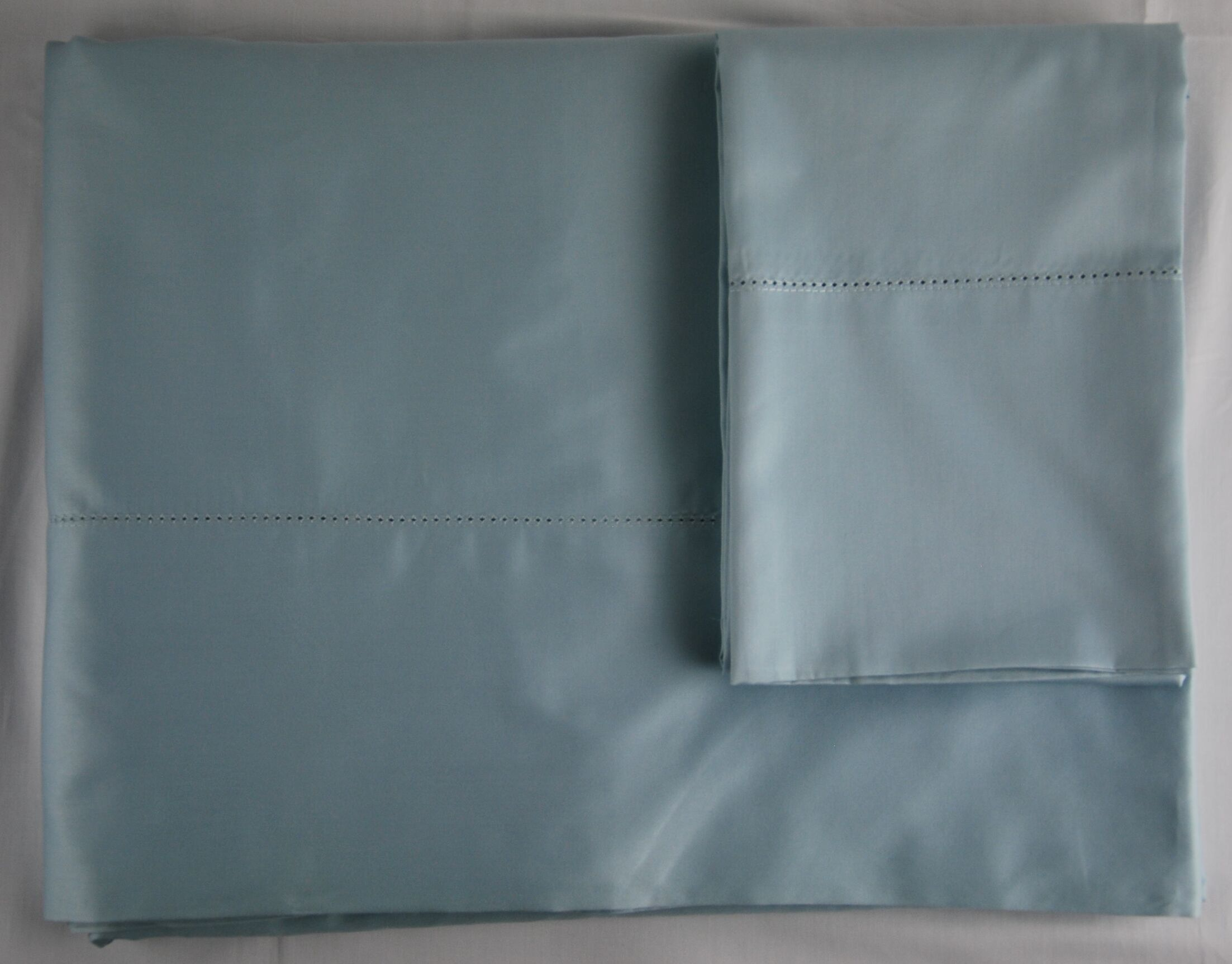 420 Thread Count Sheet Set Color: Azure, Size: King