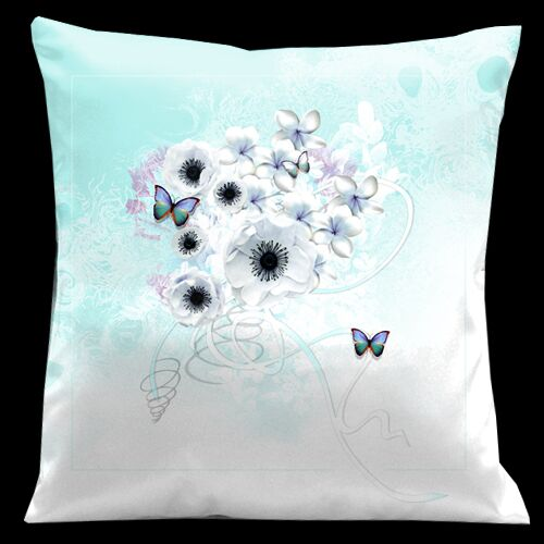 Butterflies Valentines Throw Pillow