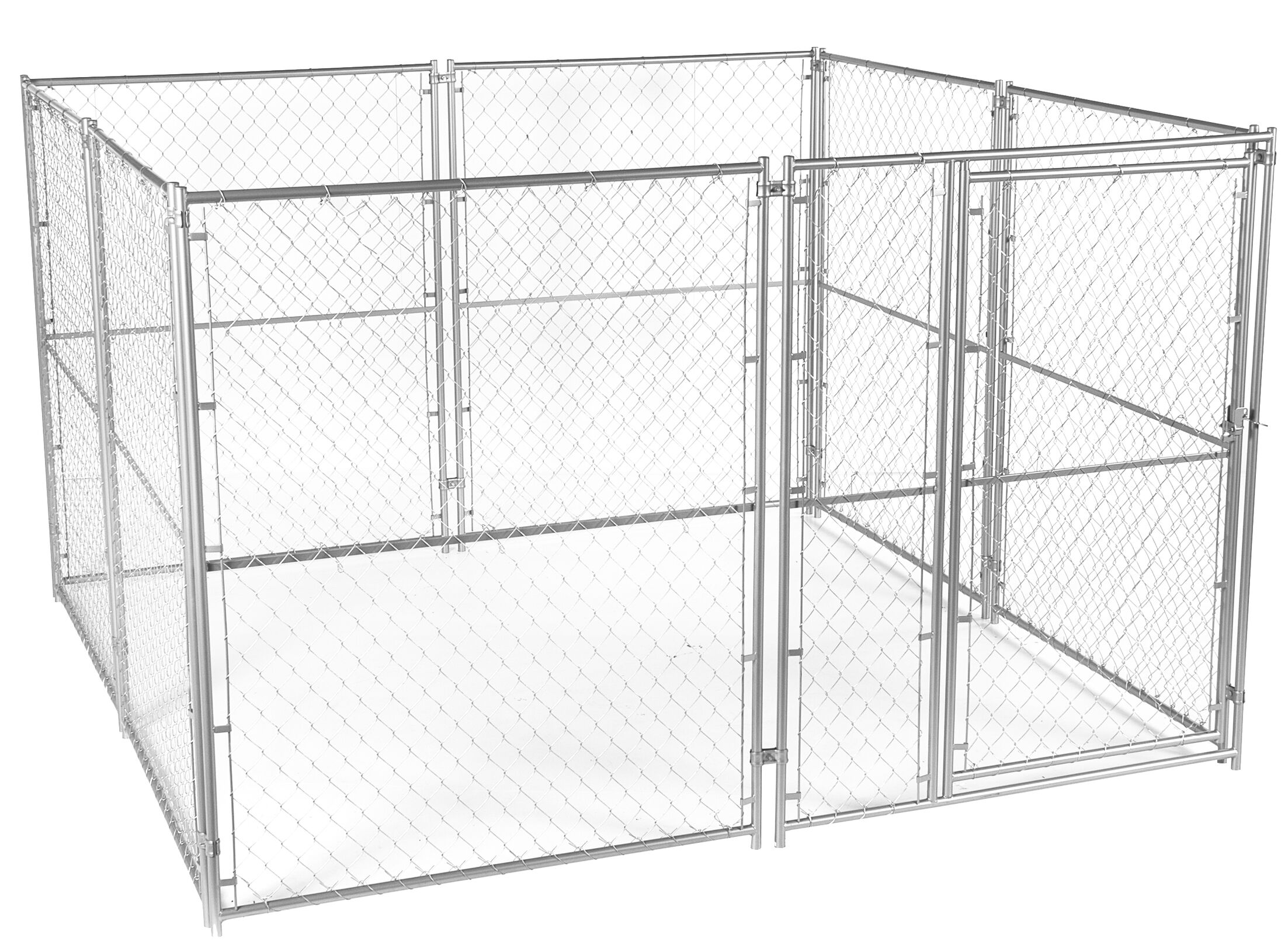 Lucky Dog� Chain Link Yard Kennel Size: 6' H x 10' W x 10' L