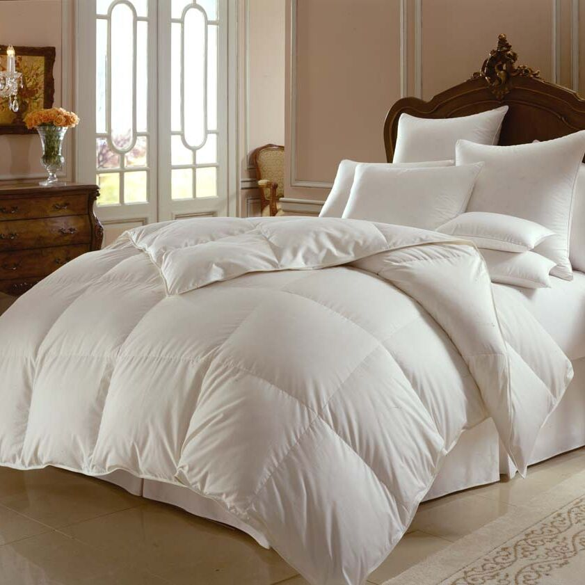 Himalaya 700 Heavyweight Down Comforter Size: Oversized King