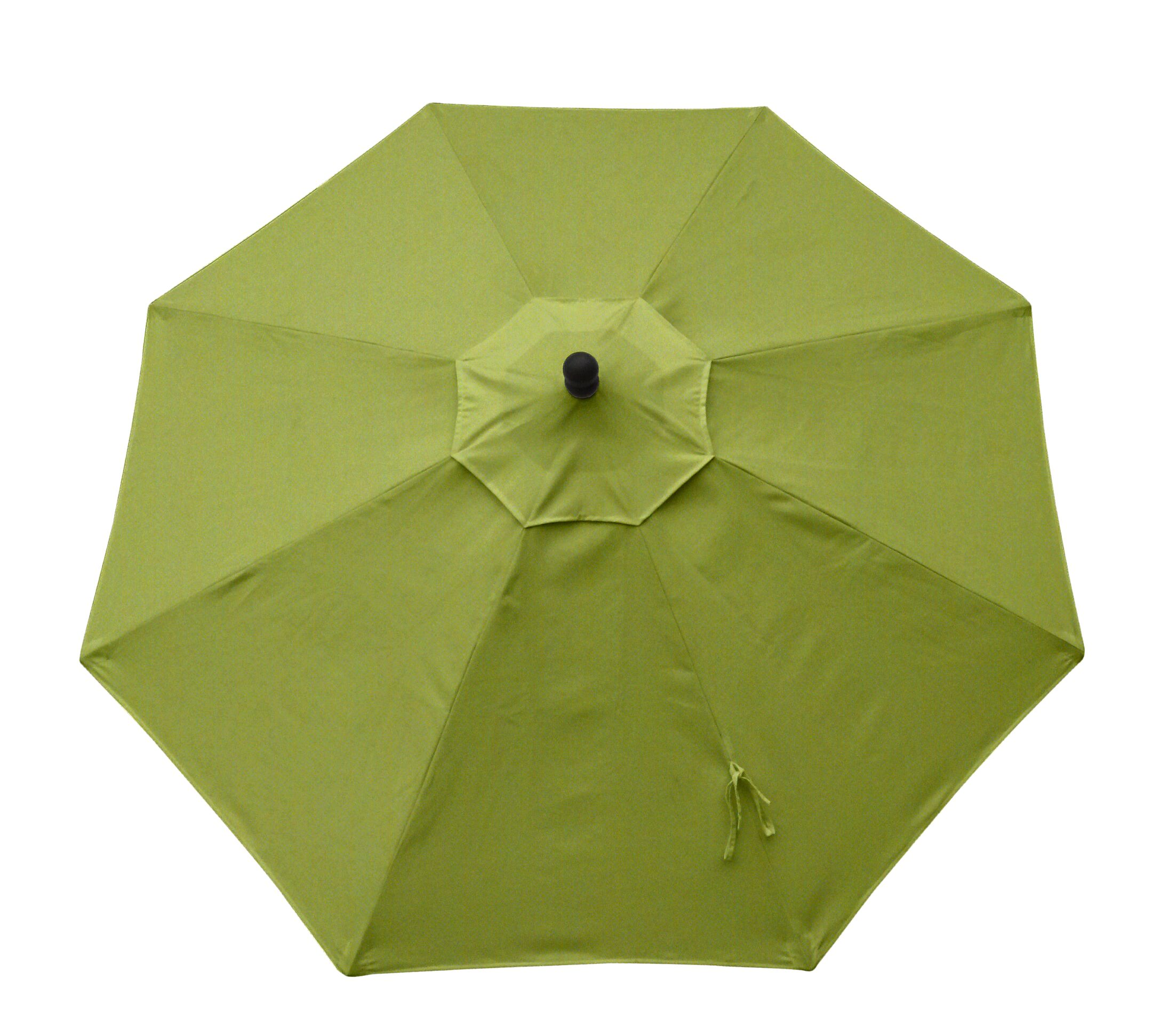 Resort 9' Market Umbrella Fabric: Spectrum Kiwi