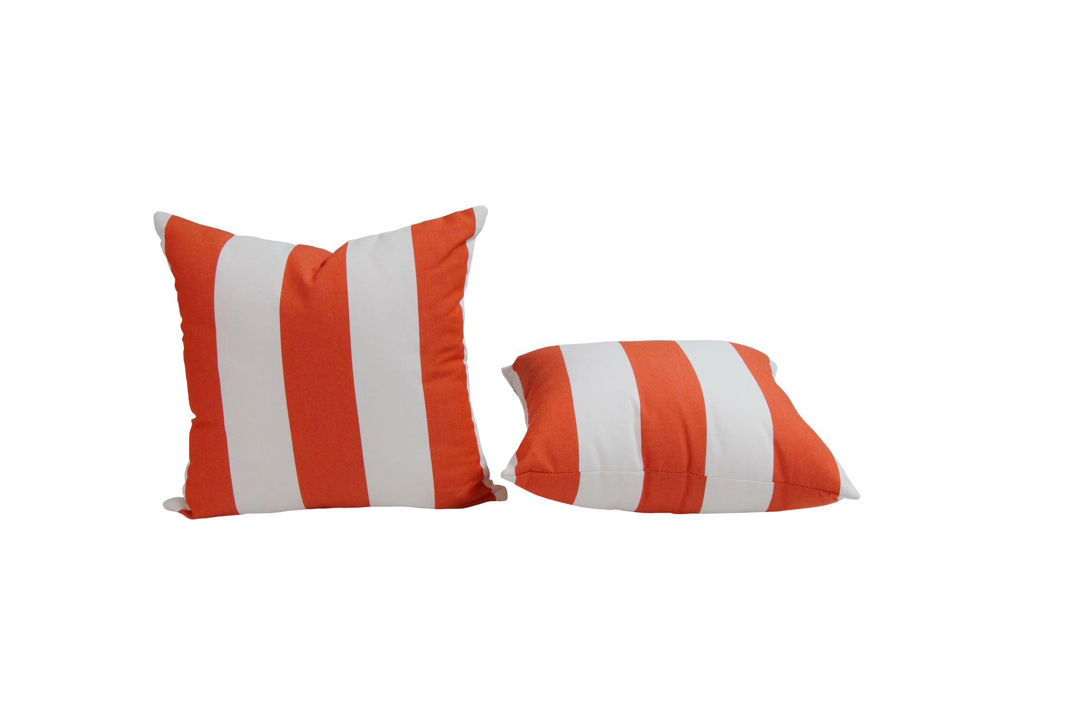 Outdoor Sunbrella Throw Pillow Size: 20