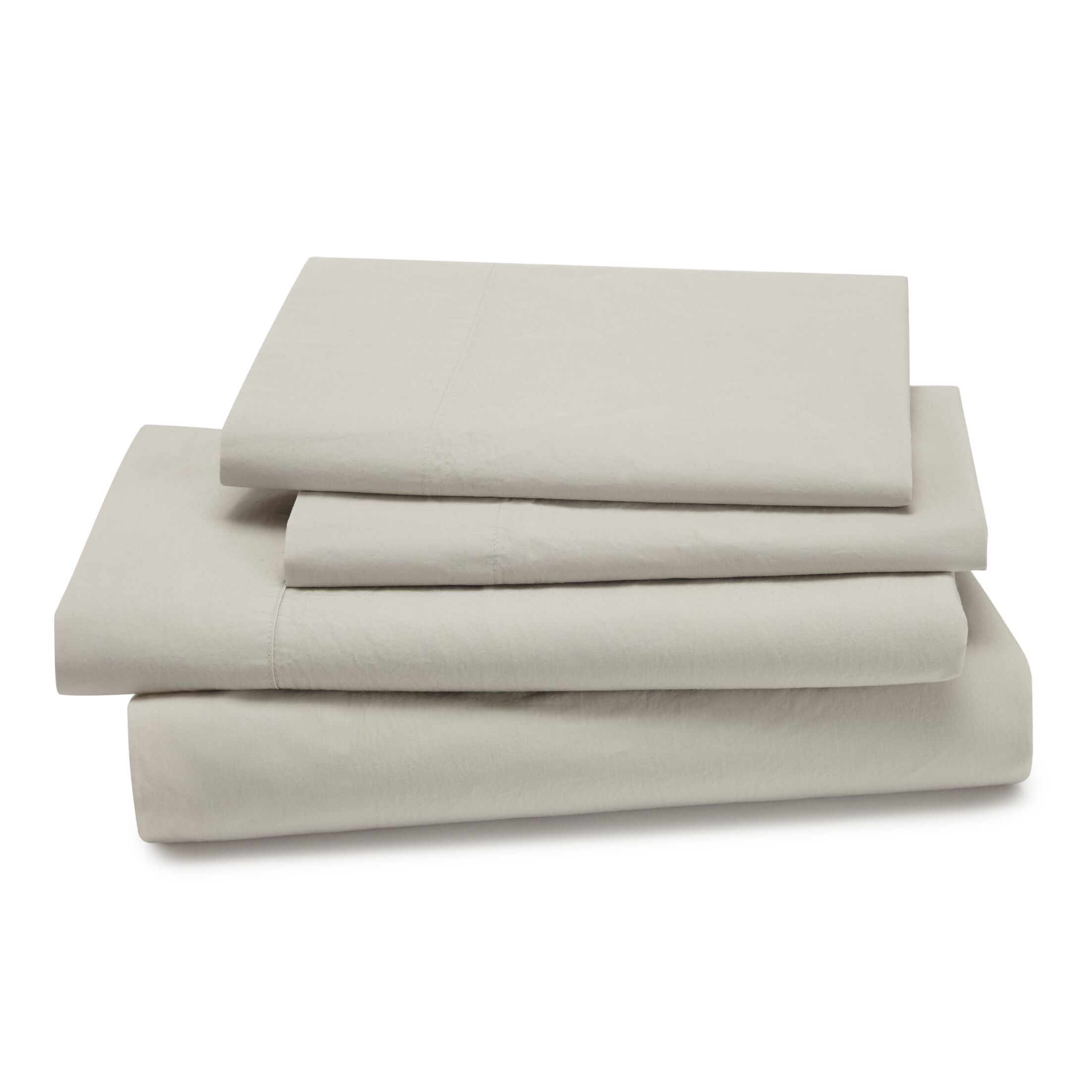 Lorimer 300 Thread Count Sheet Set Color: Oatmeal, Size: Twin