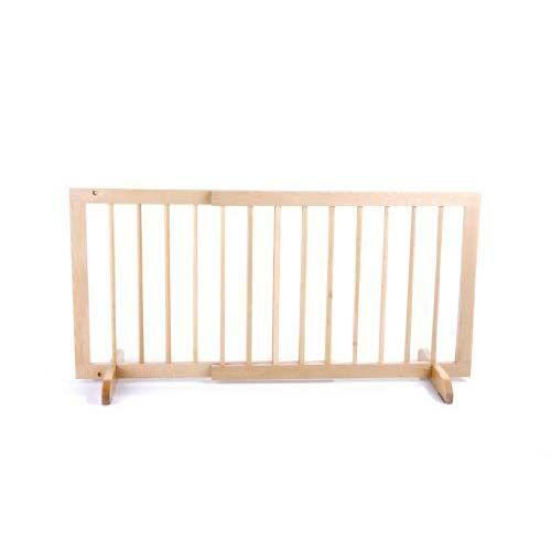 Step Over Pet Gate Finish: Natural