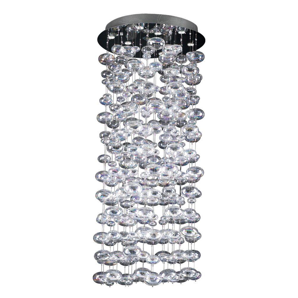 Bubbles 18-Light Pendant Size: 96