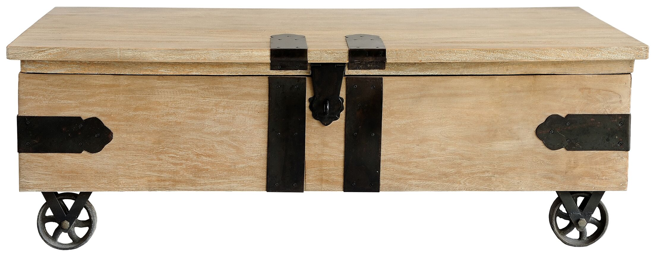 Utility Trunk Coffee Table with Lift Top