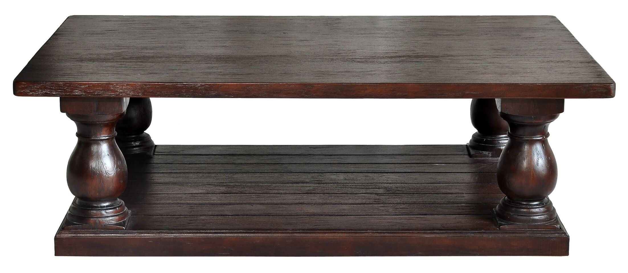 Coffee Table Color: Dark Brown