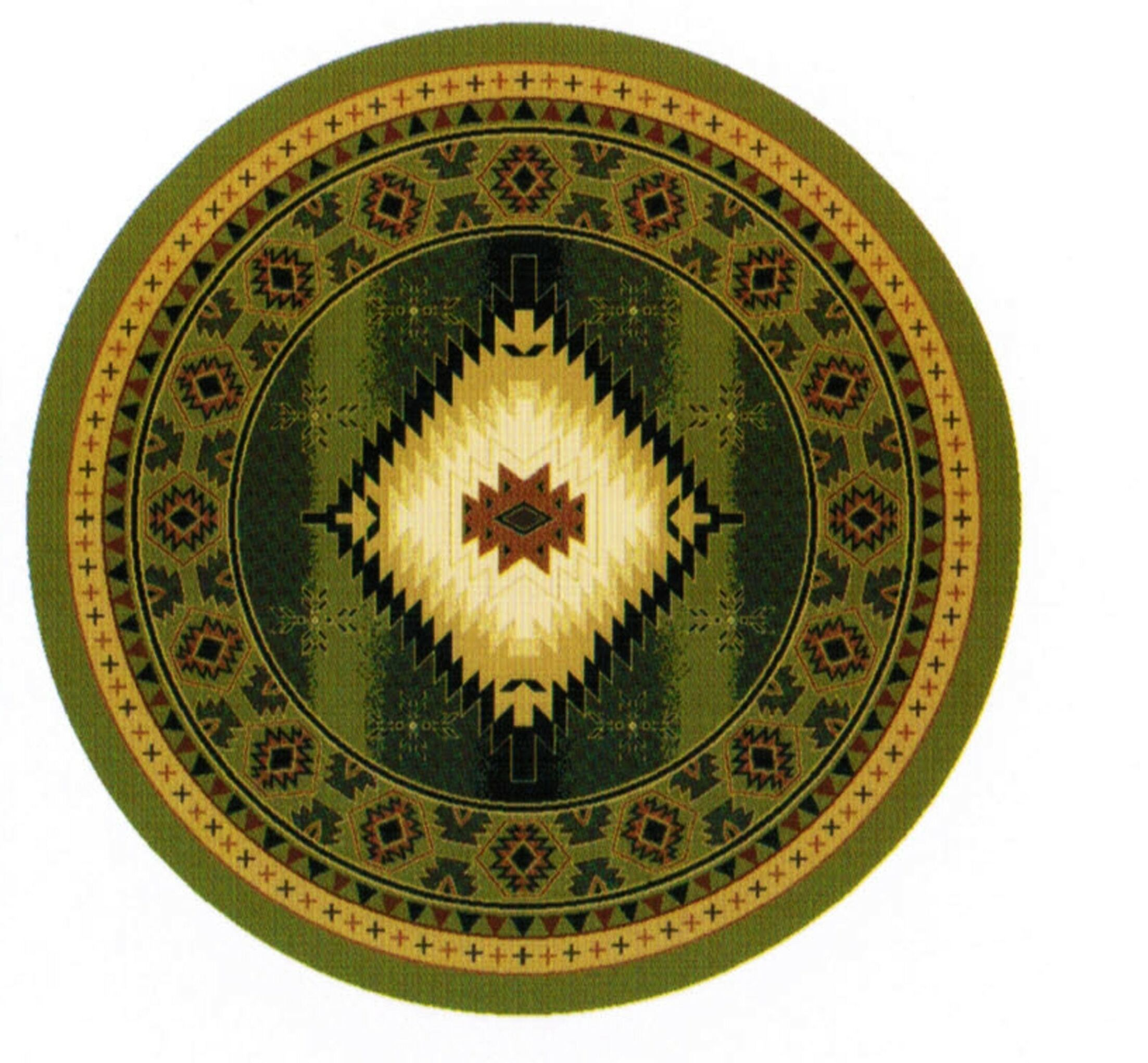 Cosmos Area Rug Rug Size: Round 5'