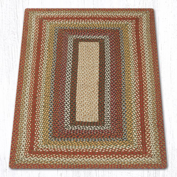 Scolley Braided Red / Brown Area Rug Rug Size: Rectangle 3' x 5'
