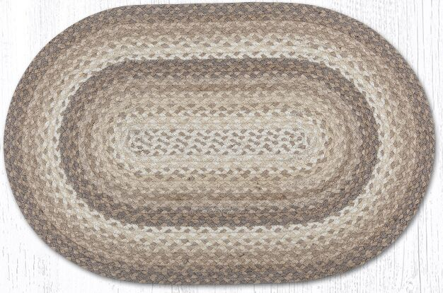 Oval Braided Doormats Mat Size: Oval 2'3