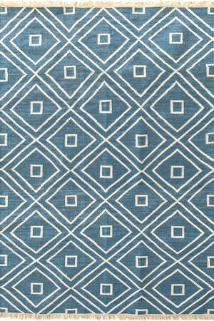 Mali Hand-Woven Blue Indoor/Outdoor Area Rug Rug Size: Rectangle 3' x 5'