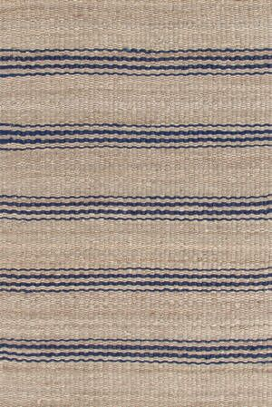Hand Woven Beige/Blue Area Rug Rug Size: Rectangle 10' x 14'