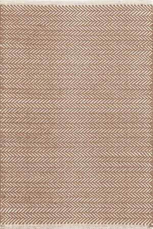Herringbone Hand Woven Brown Area Rug Rug Size: 9' x 12'