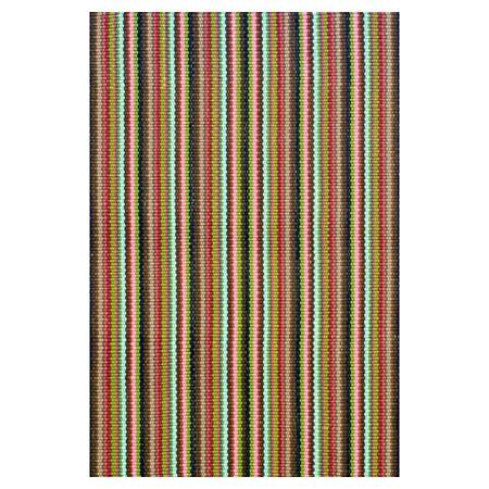 Hand Woven Indoor/Outdoor Area Rug Rug Size: 6' x 9'