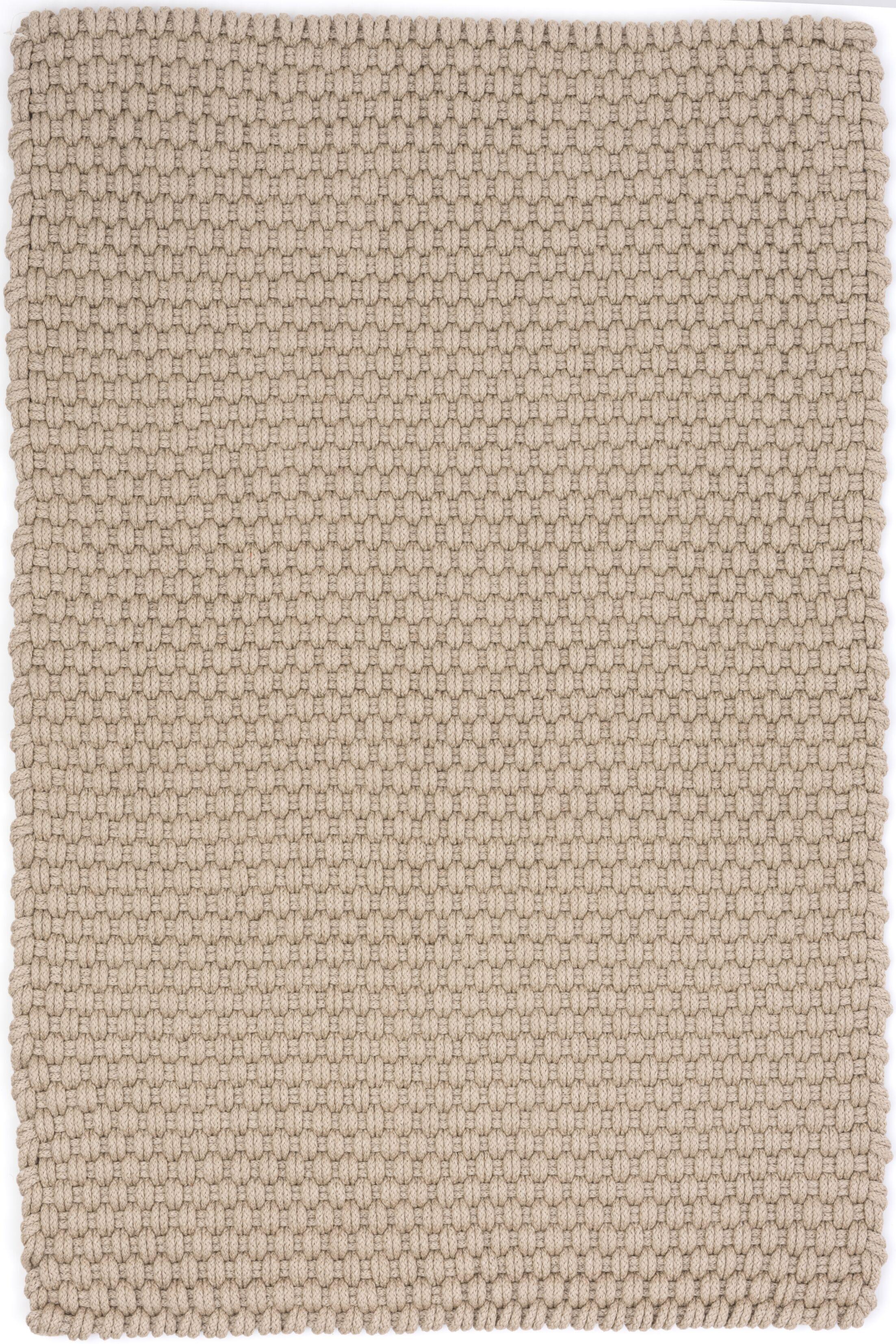 Hand Woven Brown Indoor/Outdoor Area Rug Rug Size: Rectangle 8'6