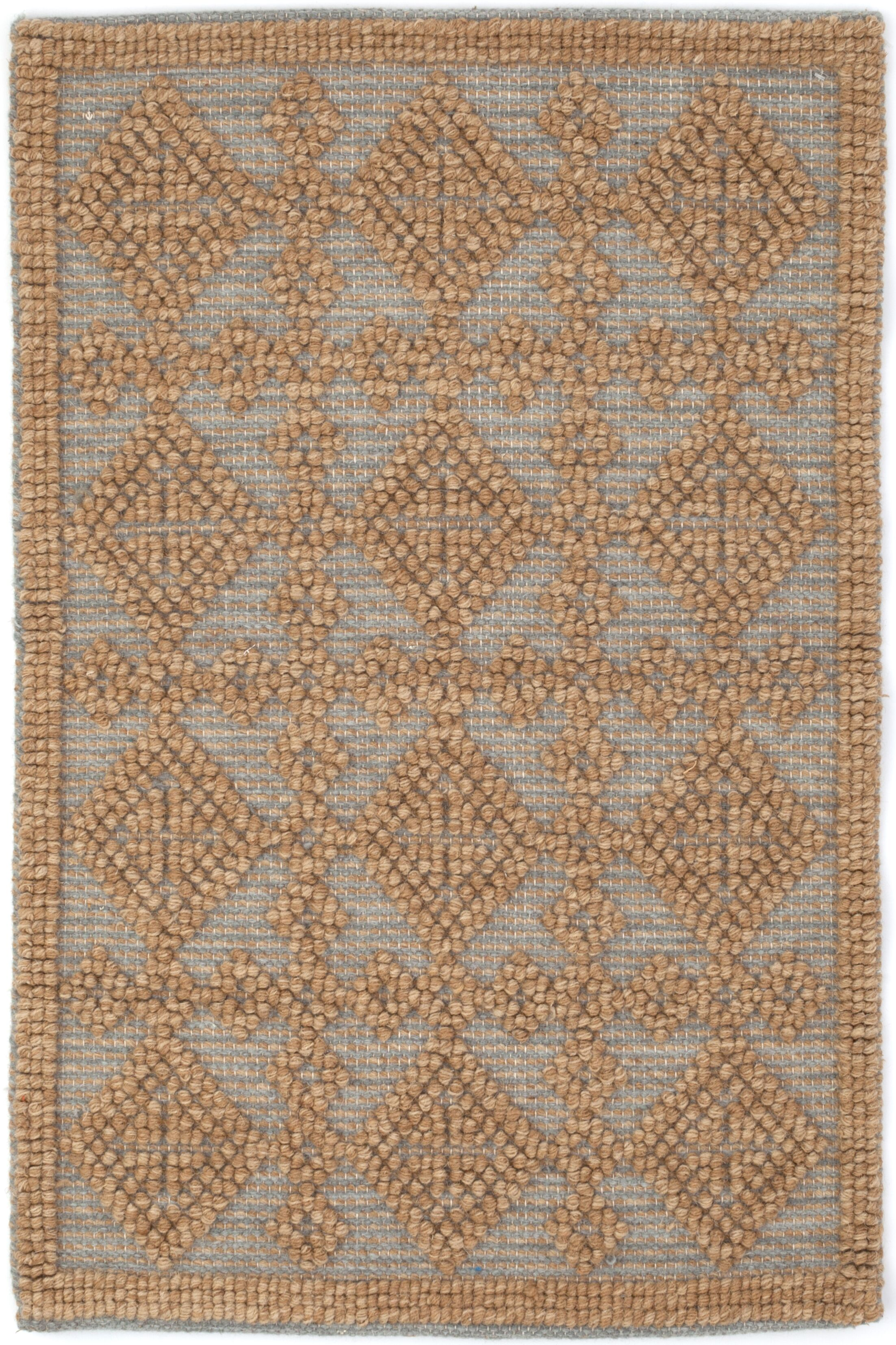 Hand Woven Brown Area Rug Rug Size: Runner 2'6