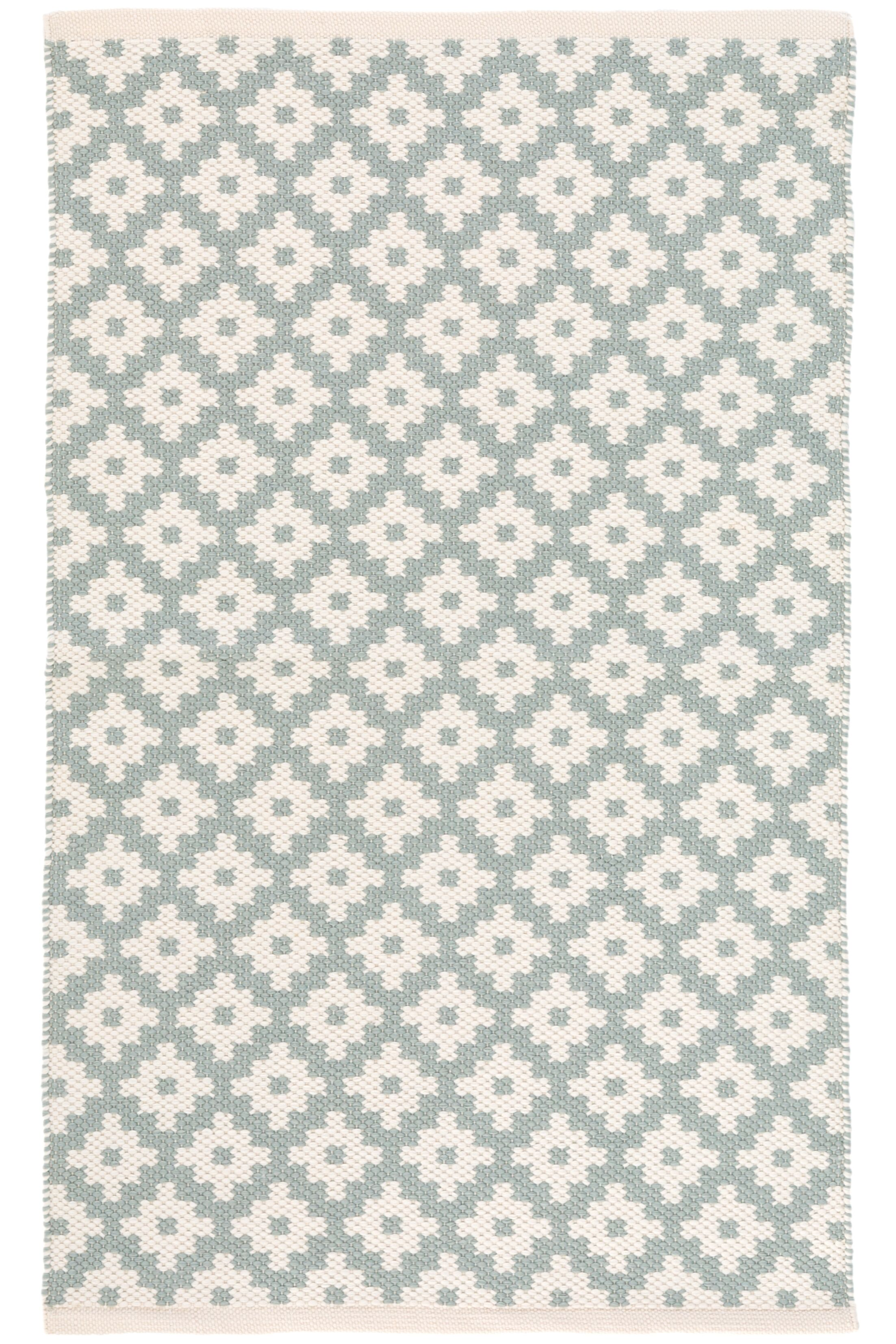 Samode Blue/White Indoor/Outdoor Area Rug Rug Size: Runner 2'6