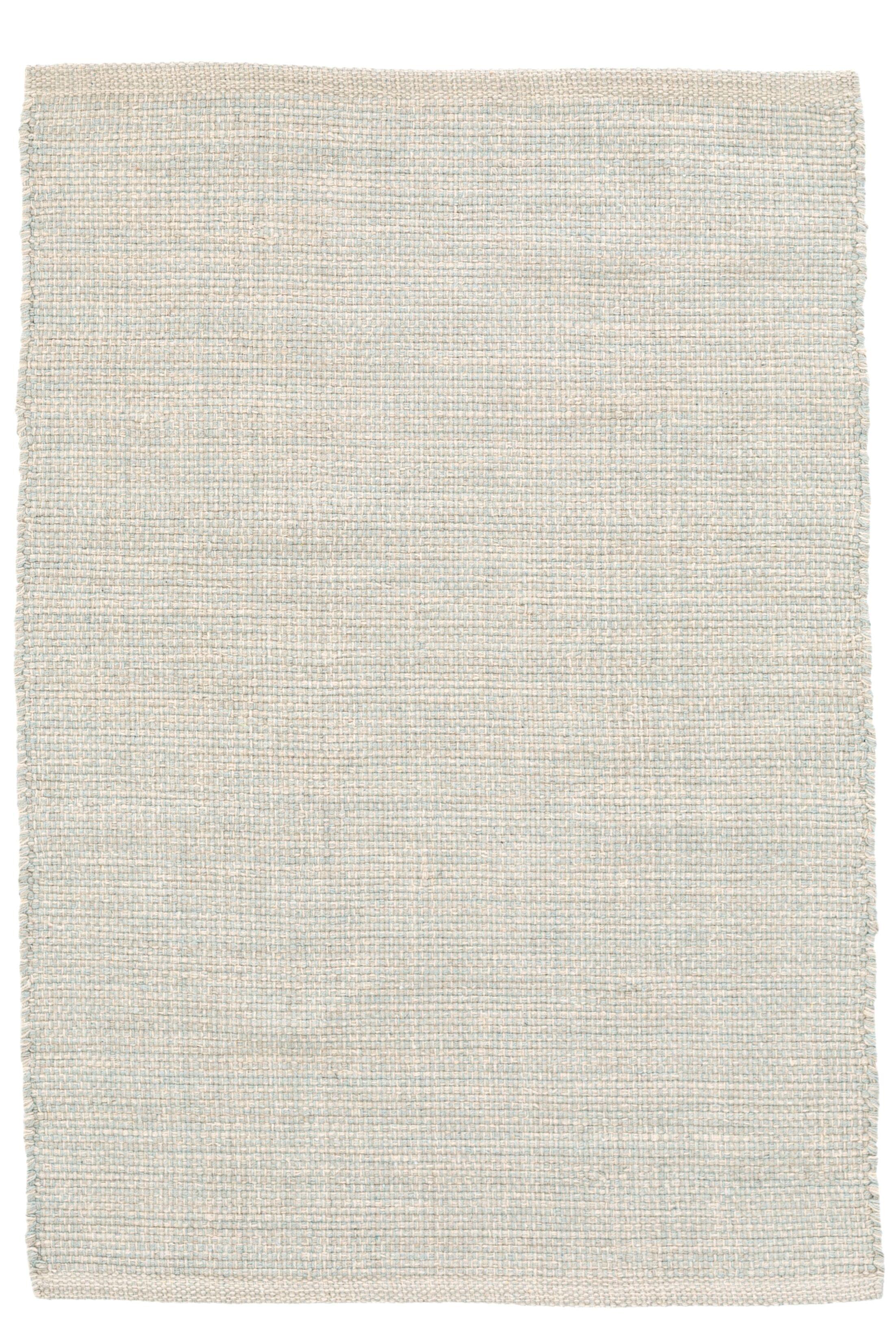 Marled Blue/White Area Rug Rug Size: Rectangle 10' x 14'