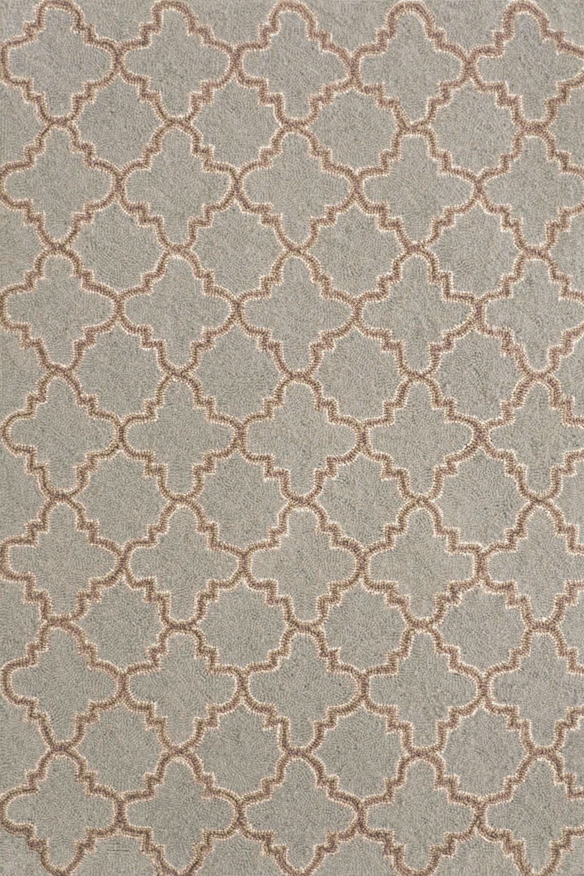 Hooked Blue Area Rug Rug Size: 4' x 6'