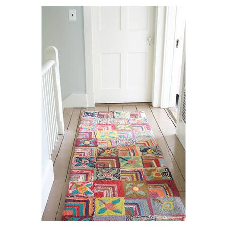 Hooked Area Rug Rug Size: 4' x 6'