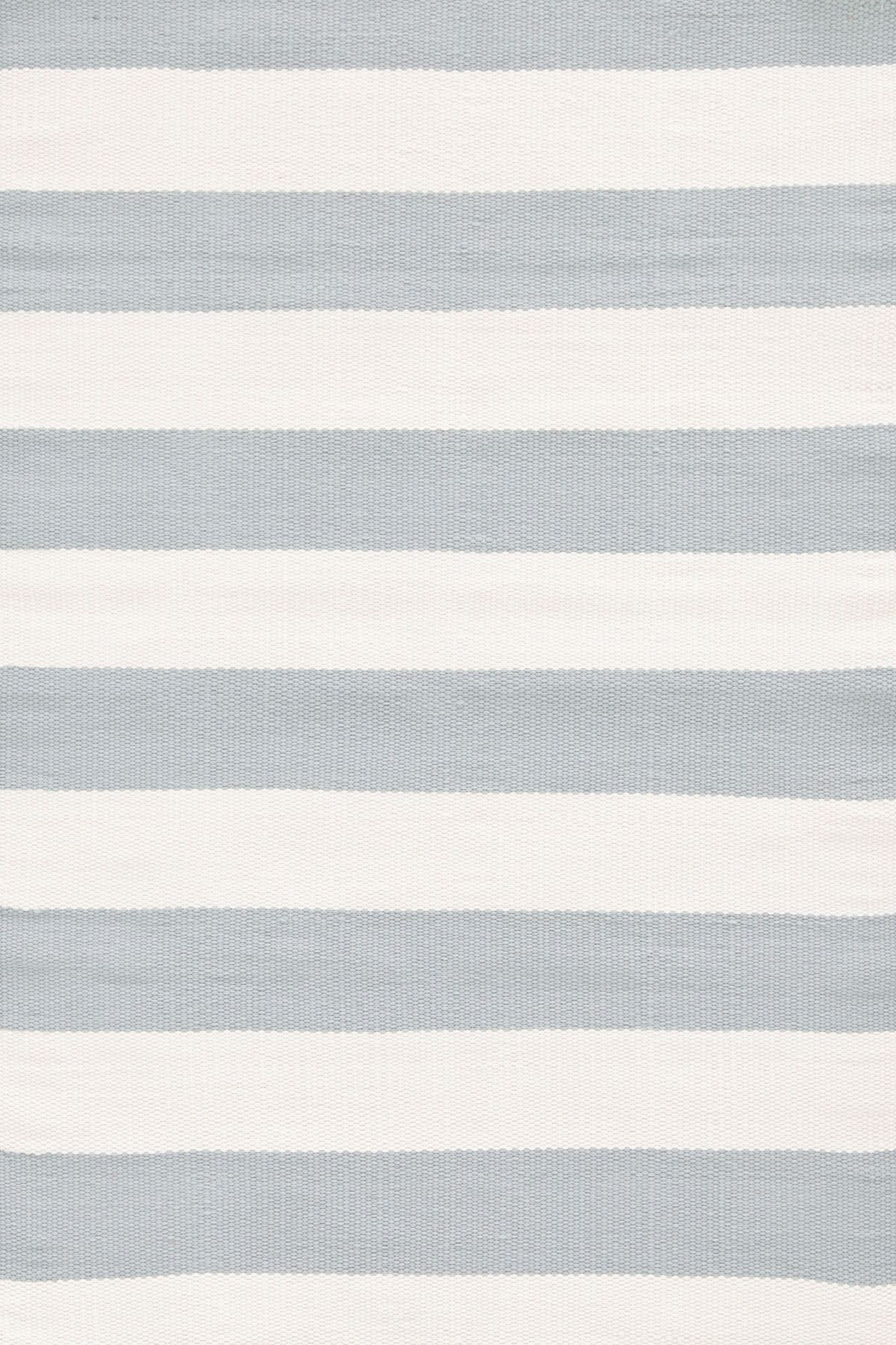 Indoor/Outdoor Blue/White Area Rug Rug Size: Rectangle 6' x 9'