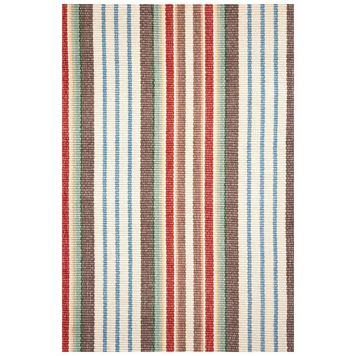 Hand Woven Cotton Area Rug Rug Size: 8' x 10'