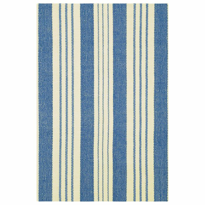 Hand Woven Blue Area Rug Rug Size: 8' x 10'