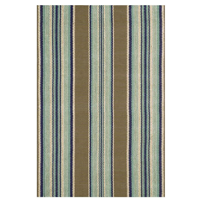 Flat Woven Blue Area Rug Rug Size: 4' x 6'