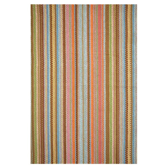 Hand Woven Cotton Area Rug Rug Size: 6' x 9'