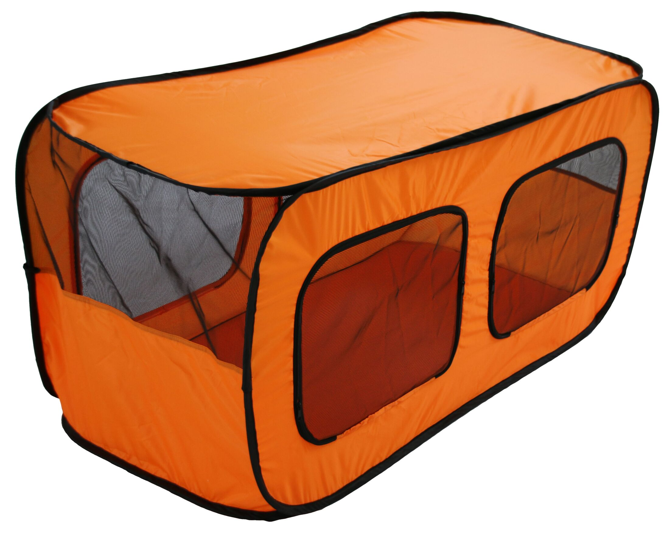 Mesh and Nylon Collapsible Yard Kennel