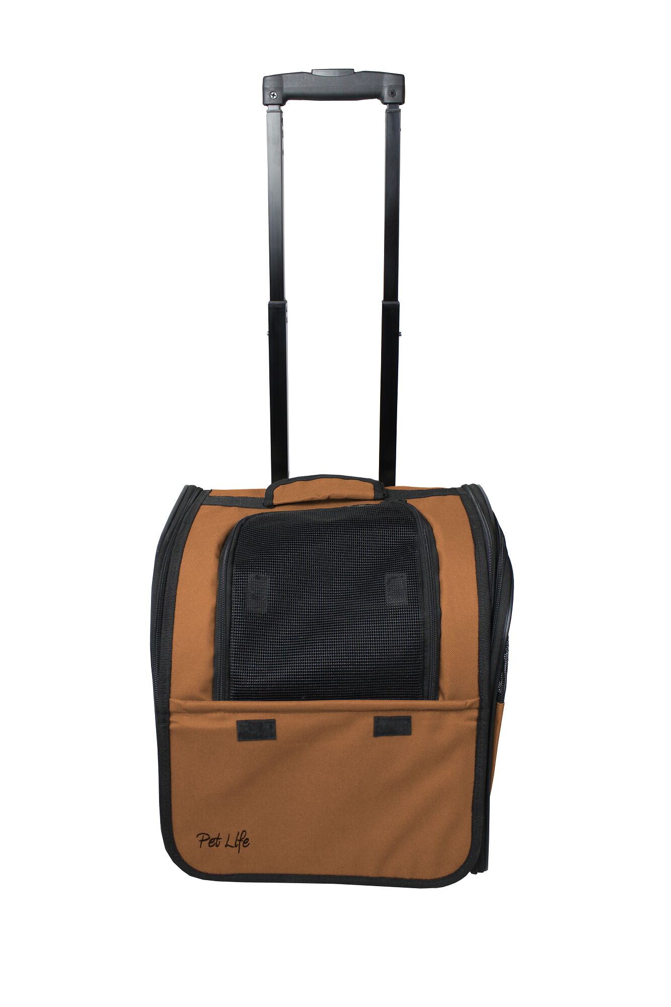 Horan Airline Approved Wheeled Travel Pet Carrier Color: Brown
