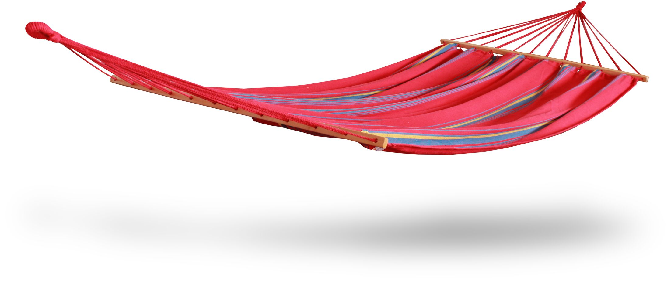 Cotton and Polyester Chair Hammock Color: Red