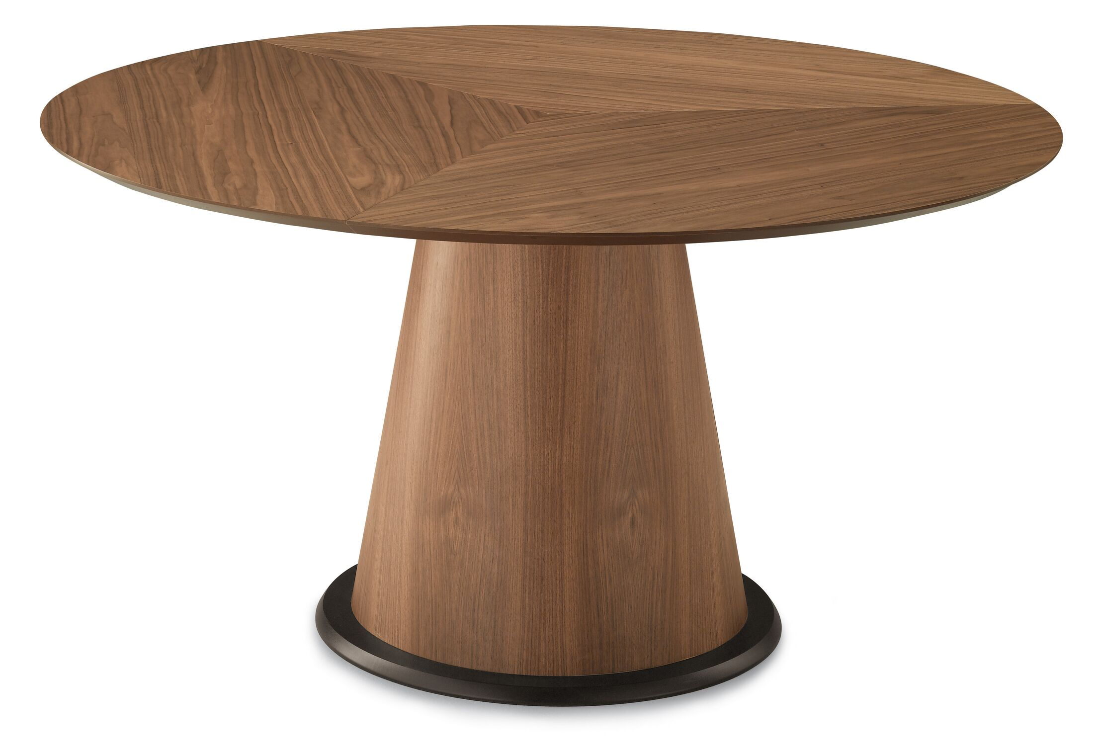 Palio Dining Table Finish: Frame: Walnut/ Top: Walnut