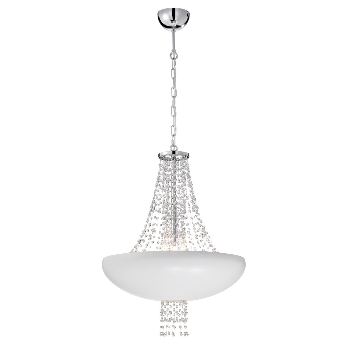 Lopez 9-Light Mini Pendant Finish: White