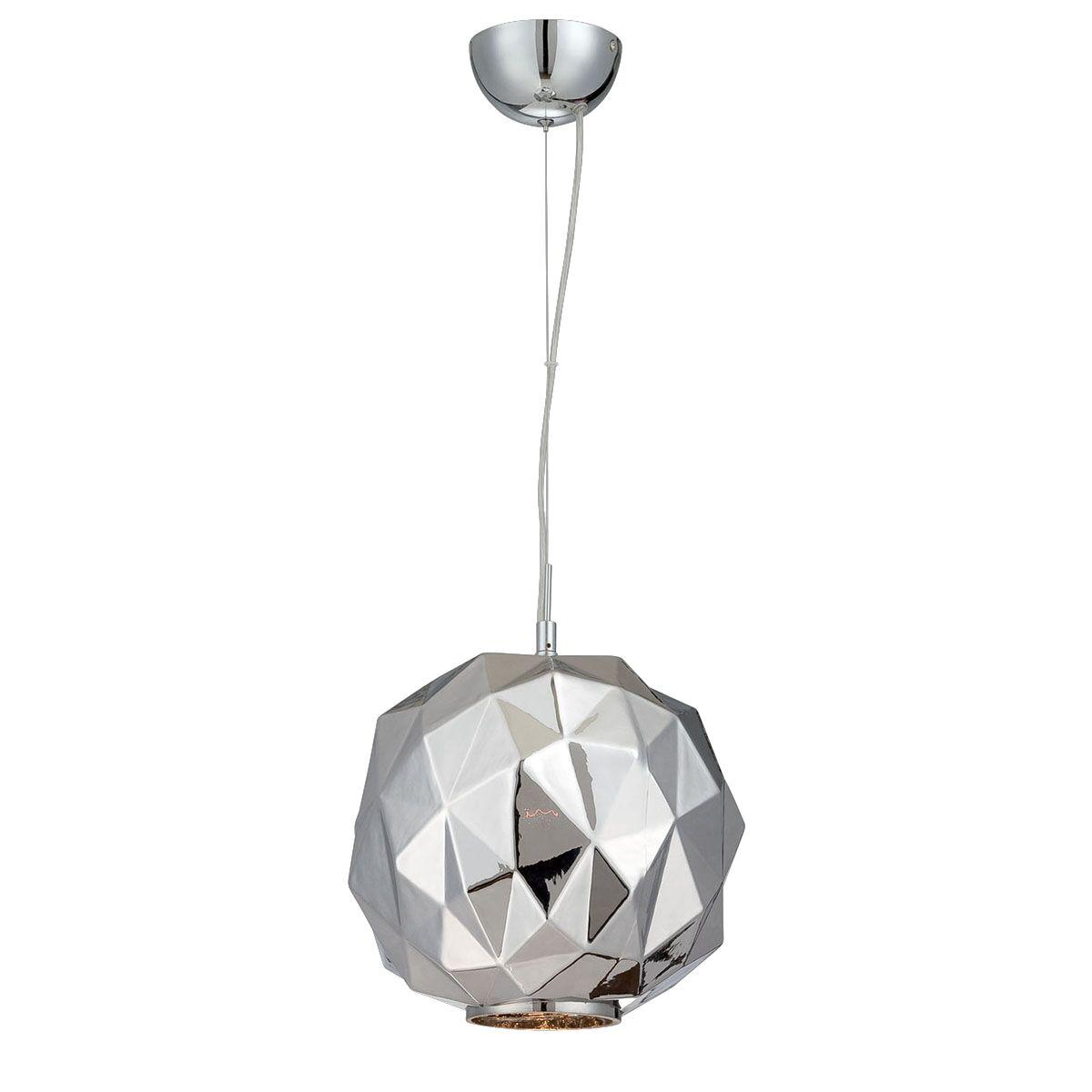 Studio 1-Light Globe Pendant Finish: Chrome