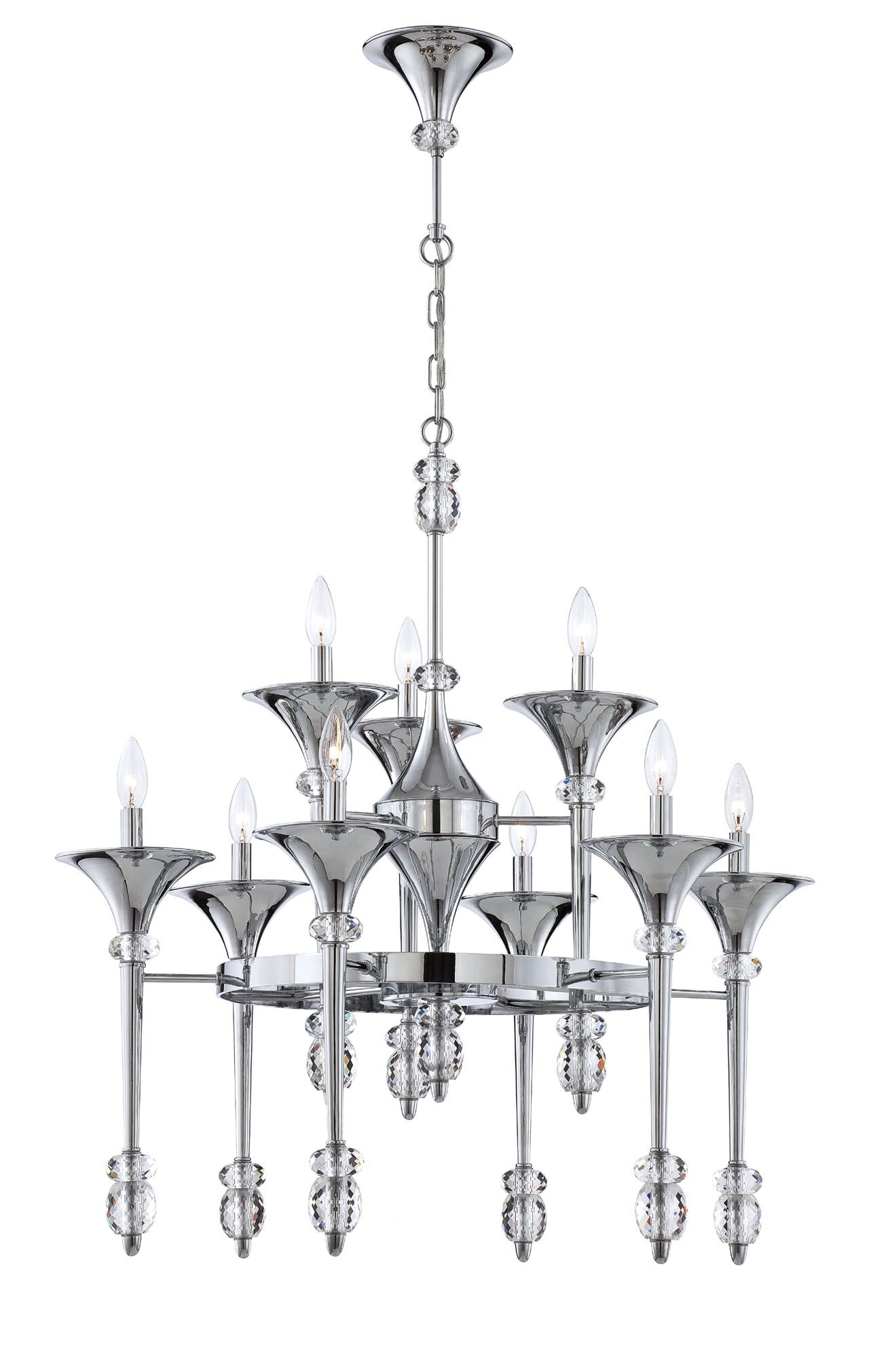 Cannello 9-Light Chandelier